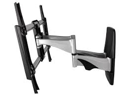 Tv Wall Mount Full Motion Tv Wall Mount Max 99 Lbs 37 70 Inch Monoprice Com