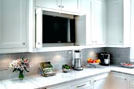 kitchen televisions under cabinet tv cabinet kitchen image by tv under cabinet kitchen rootsrocks club