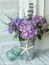 hydrangea arrangements hydrangea arrangement ideas sand and sisal