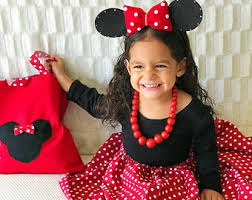 Minnie Mouse Halloween Costume Toddler Minnie Mouse Costume Etsy