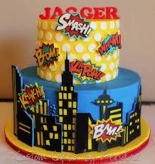 comic book superhero cakecentral com