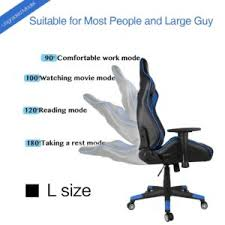 Ergonomic Reading Chair Gaming Chairs Kinsal Ergonomic Leather High Back Swivel Chair With