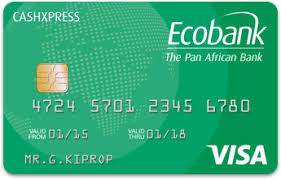 pre pay card ecobank prepaid cards