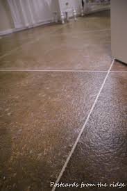 Modern Ideas Painted Tile Floor by Bold And Modern Tiling On Concrete Floor Basement Best 25 Basement