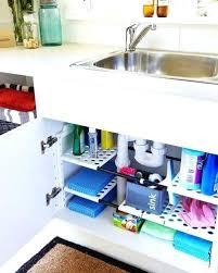 rangement sous evier cuisine rangement sous evier cuisine 2 utiliser des tablettes et des paniers