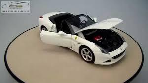 california model car california t open top bburago 1 24