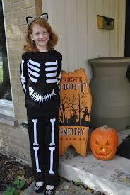 Skeleton Halloween Costume by Playdate Last Minute Halloween Costume Generation Q Magazine