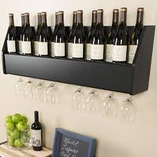 Under Cabinet Wine Racks Wine Racks Wayfair Under Cabinet Wine Bottle Rack Sosfund