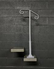 2 Step Handrail Single Post 1 Or 2 Step Railing For Stairs Steel Handrail With