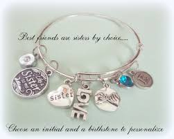 bracelet gift images Like a sister to me charm bracelet gift for best friend bff jpg