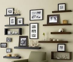 Wall Decorating Ideas With Wooden Shelves Home Furniture Ideas