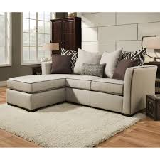 Microfiber Reversible Chaise Sectional Sofa Furniture Changeable Couch Reversible Chaise Sectional