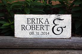 wedding plaques personalized crafted painted wood signs signs by andrea