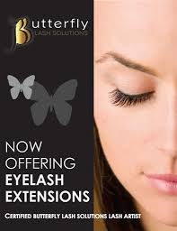 Eyelash Extensions Natural Look Eyelash Extensions Hair And Makeup Salon Butterfly Lash