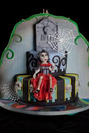 Halloween Birthday Party Cakes by