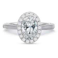 oval engagement ring with halo 18k white gold oval halo engagement ring s jewelers