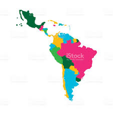 America Map Images by Latin America Map Stock Vector Art 671534394 Istock