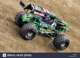 monster jam new trucks new orleans la usa 20th feb 2016 grave digger monster truck