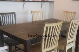 Refinishing Dining Room Table by Diy Project Refinishing Dining Room Table U0026 Chairs Super Coupon