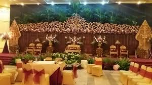 javanese traditional wedding decorations part 1 youtube
