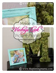 Shabby Chic Painting Techniques by How To Make A Vintage Picture Frame With Dry Brush Technique The