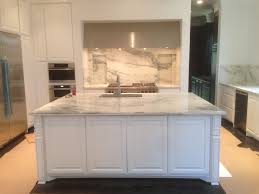 White Island Kitchen Honed Danby Marble Arabescato Montclair Or Mountain White Island