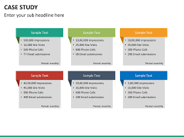 case study powerpoint template sketchbubble