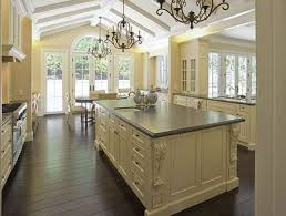 riveting french country kitchen sets of waterfall granite edge
