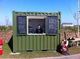 a 10ft container converted for heartlands cornwall a kitchen