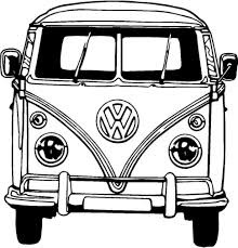volkswagen type 2 coloring pages vw bus coloring page volkswagen type 2 pages vw