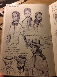 character sketches the alchemist 1 by sarah de buck a steampunk