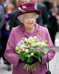 Queen Elizabeth by Queen Elizabeth Ii And The Duke Of Edinburgh Visit City And