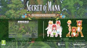 pre purchase secret of mana on steam