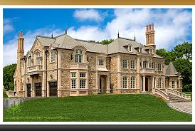 one story mansions showcase the chateau custom luxury mansion