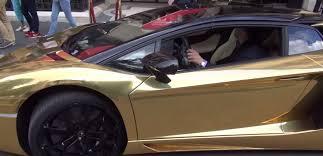 gold chrome lamborghini aventador gold chrome lamborghini aventador roadster spotted in