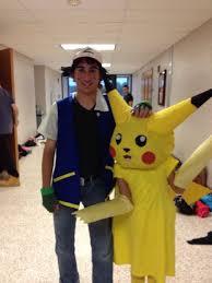 Pikachu Costume Ash And Pikachu Costumes Pokemon 5 Steps