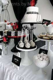 Black And White Candy Buffet Ideas by Hostess With The Mostess Black U0026 White Affair Emilys Wedding