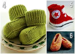10 free knitting patterns for baby shoes blissfully domestic