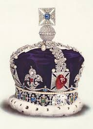 the real crown queen elizabeth s imperial state crown was destroyed under oliver cromwell in the mid 17th century who ordered the abolition of the monarchy and the sale of the crown jewels