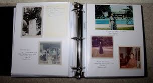 acid free photo albums archiving family photos beckwith s treasures