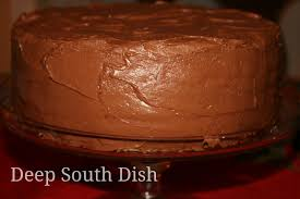deep south dish basic 1 2 3 4 yellow birthday cake with chocolate