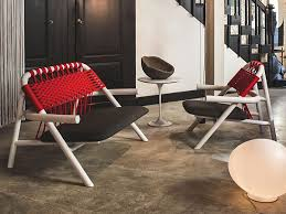 Contract Outdoor Furniture Contemporary Armchair Wooden Contract Outdoor Unam By