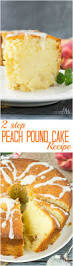 two step fresh peach pound cake recipe call me pmc
