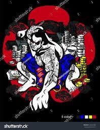 motocross racing logo sumo racing team motocross logo tshirt stock vector 360247088