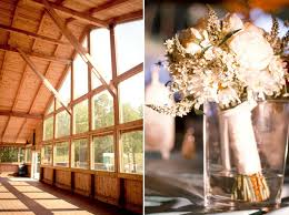 Barn Wedding Venues Va Rustic Lodge Like Wedding Venue In Virginia Decorated With White
