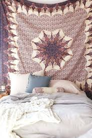 hang tapestry in dorm hanging a wall without nails how to up with
