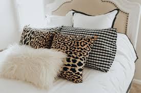Faux Fur Throw Pillow Bedroom Duvet Set A Southern Drawl