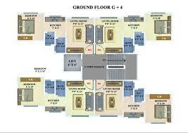 floor plans for 1 bhk feliz u0026 palacio flats in neral sonu studio