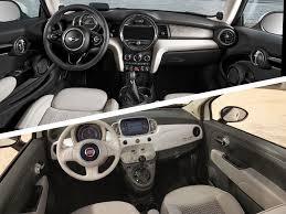 Fiat 500 Interior 2017 Mini Cooper Vs 2017 Fiat 500 Which Is Best Autobytel Com
