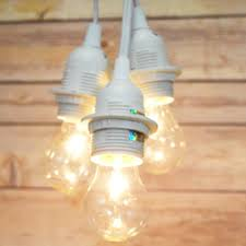 Pendant Light Cord Kit Triple Socket Pendant Light Cord Kit For Lanterns 19ft White